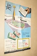 EXPO 58 ,Exposition Bruxelles 1958,RARE,publicité Originale,Revue Pour Vous,Luc Varenne - Obj. 'Herinnering Van'