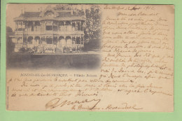 ROSENDAEL LES DUNKERQUE : Villa Des Buissons ( Destinataire Le Peintre Maurice Ramart ). 2 Scans. Edition Morel - Dunkerque