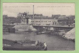 DUNKERQUE : Gendarmerie, Sous Préfecture, Bains Et Pont Saint Maurice 2 Scans. Edition Cayez - Dunkerque