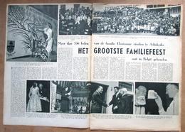 """Tijdschrift Met Artikel """"700 Leden Van De Familie Florizoone Vierden Te Adinkerke"""" 1959 - Vieux Papiers"""