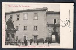 CAMERINO Palazzo Università VIAGGIATA 1905  COd.c.1987 - Italia