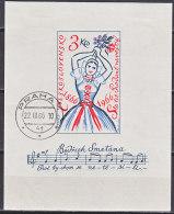 BAU0811 Czechoslovakia Bl. Imperf Art Music Fine Use - Unclassified
