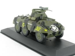 Maquette Neuve 1/43 Militaria Ford M8  Armoure2 1/43 2nd Armoured Division Avranches 1944 En Présentoir - Chars