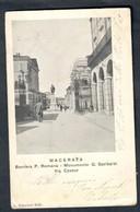 Macerata Via Cavour  VIAGGIATA 1903 COD.C.1988 - Macerata