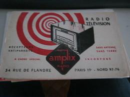 BUVARD PUBBLICITARIA RADIO TELEVISION - Electricity & Gas