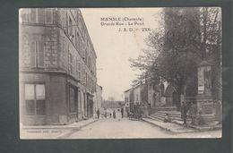 StMy - CPA - 16 - Mansle  -  Grande Rue - La Pont - Mansle