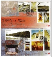 South Africa 2010 - 2 First Day Cover FDC History Of Constitution Hill Johannesburg Architecture Places Stamps SG1771-80 - Architecture