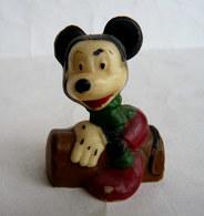 RARE FIGURINE DISNEY MICKEY - MORS 60's TAILLE CRAYON Sharpener - Figurines