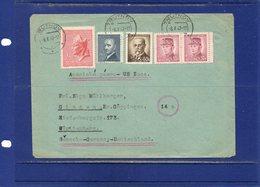 ##(DAN187)-1947- Cover From Trutnov To Germany - US Zone - - Cartas