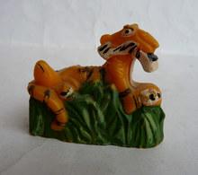 RARE FIGURINE DISNEY LE LIVRE DE LA JUNGLE BOOK - MORS 50-60's TAILLE CRAYON Sharpener SHEER KHAN - Figurines