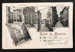 CAMERINO Saluti Da VIAGGIATA 1907  COD.C.1993 - Italia