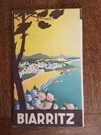Biarritz - Golf, Tennis, Courses De Chevaux, D'Aviation, Pelote Basque, Chasse à La Palombe, Rugby, Pêche, Casino Cinéma - Dépliants Touristiques