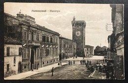 Porto Recanati Castello  Municipio NON VIAGGIATA   COD.C.1995 - Italia