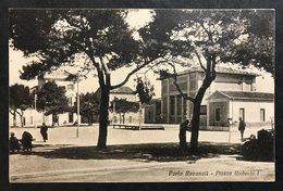 Porto Recanati Piazza Umberto I° VIAGGIATA  1932 COD.C.1996 - Italia