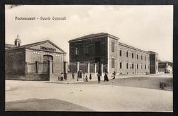 Porto Recanati Scuole Comunali VIAGGIATA  1923 COD.C.1997 - Italia