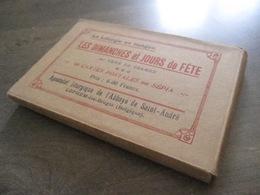 Pochette Originale 60 Cpa Liturgie R. Cramer - Dimanches Et Jours De Fête - Apostolat Saint-André Lophem Bruges Belgique - Zedelgem