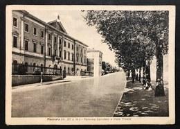 Macerata Caserma Corridoni E Viale Trieste VIAGGIATA  1943 COD.C.2001 - Macerata