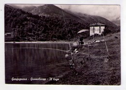 Cartolina Garfagnana (Lucca) - Gramolazzo - Il Lago. 1964 - Lucca