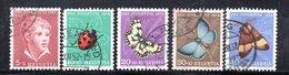 995 490 - SVIZZERA 1952 , Unificato N. 526/530  Usato . Pro Juventute - Gebraucht