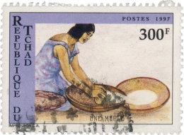 Tchad 1997. ~ YT 825 - Meule - Chad (1960-...)