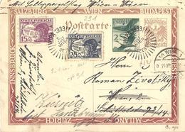 Autriche Österreich Entier Postal, Ganzsachen, Postal Stationery Carte Postale Privée Postkarten Private - Ganzsachen