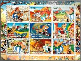 Tadjikistan 2001 Asterix Merry Christmas (Albert Uderzo René Goscinny) - Tajikistan