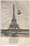 PARIS  -  TOUR  EIFFEL  /  Surréalisme  Montage   /  Poste De Radio  Beausoleil  / Reporter  Simons  à Alfort  Ecole - Photographs