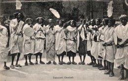 CPA    SOMALIE---DANSEURS DUNKALI - Somalia