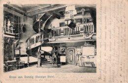 CPA    ALLEMAGNE--DANTZIG---GRUSS AUS DANDZIG---1903 - Danzig