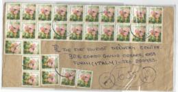 Dychrostachys Cinerea Khalahari Xmas Tree Kenya Issue C.10x30pcs ( 20+2x4+2 Missed) On Taxed CV X Italy - Kenya (1963-...)
