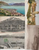 N  28   Lot 100 CPA    Différentes   De Suisse - Postcards