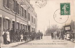 IVRY LA BATAILLE HOTEL DU GRAND SAINT MARTIN - Autres Communes