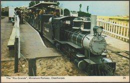 The 'Rio Grande', Miniature Railway, Cleethorpes, Lincolnshire, C.1970 - Bamforth Postcard - England