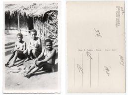 République Centrafricaine 012, Oubangui (AEF), Pauleau 69, Pygmé Babinga, état - Zentralafrik. Republik