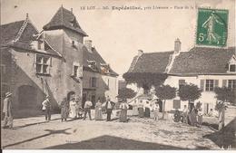 ESPEDAILLAC PLACE DE LA FONTAINE - Autres Communes