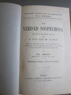 La Verdad Sospechosa De De Alarcon, Juan Ruiz. Garnier. 1911 - Livres, BD, Revues