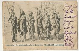 D.-S.-W. Afrika Hereroweiber Des Haupflings Kaweiho In Olomgobe Nude Girls Windhuk 1905 Spenker Hamburg - Namibia