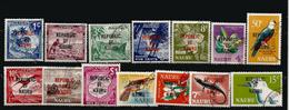 Republic Of Nauru, Série Complète Definitive Nr 69/82, Oblitérés 1 ère Qualité. Côte 22,00 € - Timbres