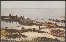The Pier, John O' Groats, Caithness, 1956 - Valentine's Postcard - Caithness