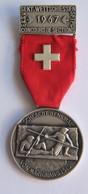 Suisse // Schweiz // Switzerland // Médaille De Tir 1967 - Jetons & Médailles