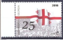 2016. Georgia, 25y Of Independence, 1v, Mint/** - Georgia