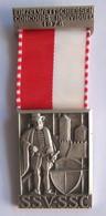 Suisse // Schweiz // Switzerland // Médaille De Tir 1976 - Jetons & Médailles