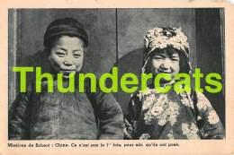 CPA CHINE CHINA MISSION DE SCHEUT - China