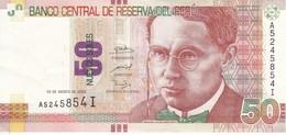 BILLETE DE PERU DE 50 NUEVOS SOLES DEL AÑO 2009 EN CALIDAD EBC (XF) (BANKNOTE) - Peru