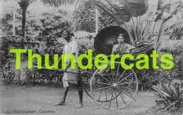 CPA GINRICKSHAW COLOMBO SRI LANKA CEYLON - Sri Lanka (Ceylon)