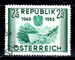 Austria-F-0116 - Emissione 1955 (o) Used - Senza Difetti Occulti. - 1945-.... 2nd Republic