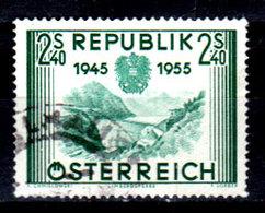 Austria-F-0117 - Emissione 1955 (o) Used - Senza Difetti Occulti. - 1945-.... 2nd Republic