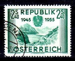 Austria-F-0118 - Emissione 1955 (o) Used - Senza Difetti Occulti. - 1945-.... 2nd Republic