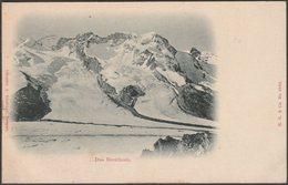Das Breithorn, Valais, 1906 - Gindraux U/B AK - VS Valais