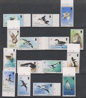South Georgia 1987 Definitives / Birds 15v ** Mnh (39451) - Zuid-Georgia